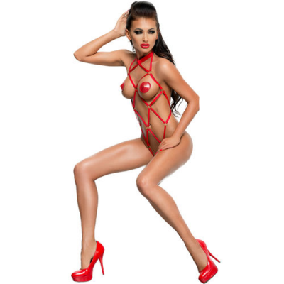 Anita body fetish rojo XXL/XXXL