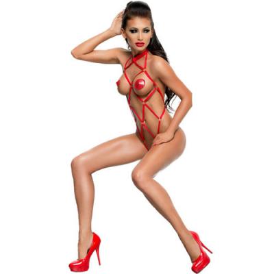 Anita body fetish rojo XXL/XXXL