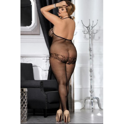 Bodystocking de cuello halter
